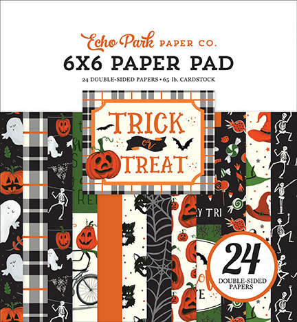 Paper Pad Echo Park - Trick or Treat 6""