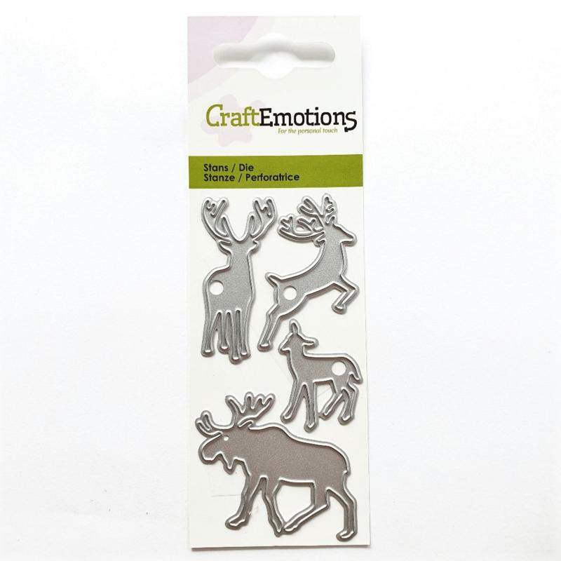 Snijmal CraftEmotions - Eland, Hert & Ree