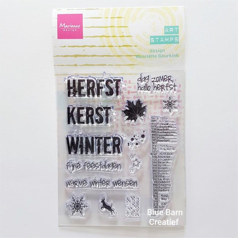 Clear Stamp Marianne Design - Hallo Herfst