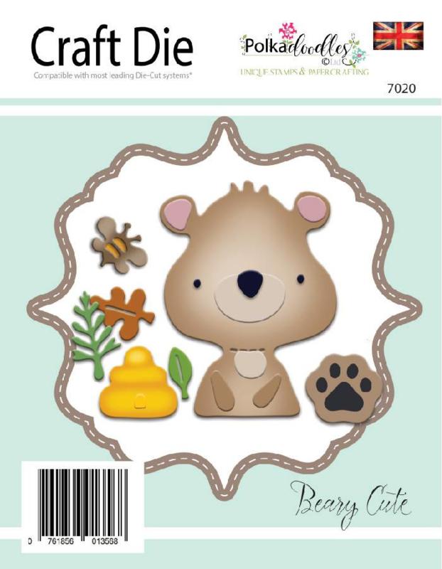 Snijmal PolkaDoodles - Beary Cute