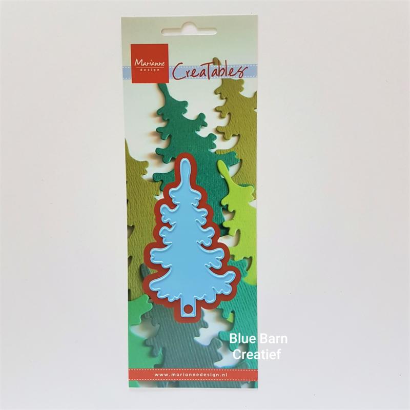 Snijmal Marianne Design - Denneboom