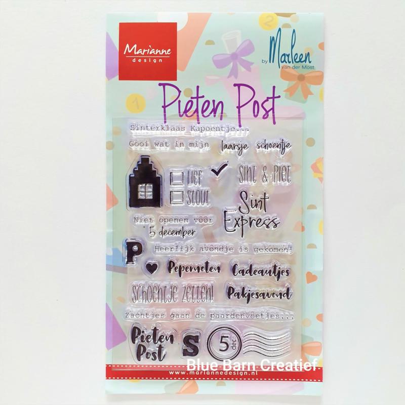 Clear Stamp Marianne Design - PietenPost