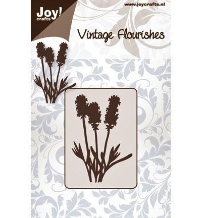 Snijmal Joy!Crafts - Vintage Flourishes 'lisdodde'