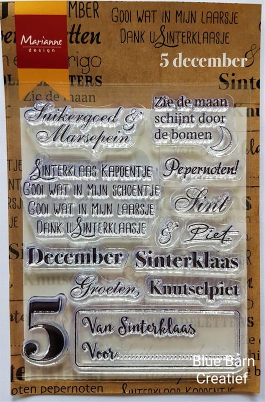 Clear Stamp Marianne Design - 5 December