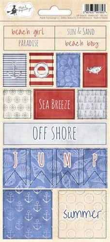 Piatek13 - Sticker sheet Off Shore II 02