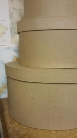ovale hoedendozen large