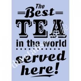Tea sjabloon A3