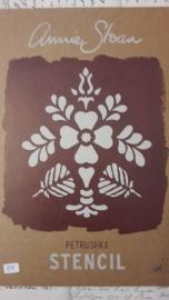 annie sloan stencil petrushka