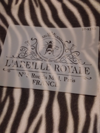 Sjabloon abeille royale