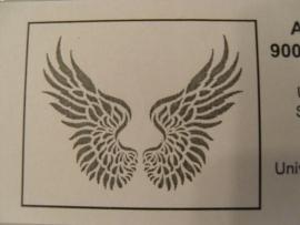 Vleugel sjabloon
