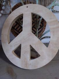 Peace teken hout