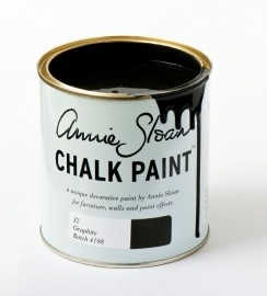 Graphite annie sloan chalk paint