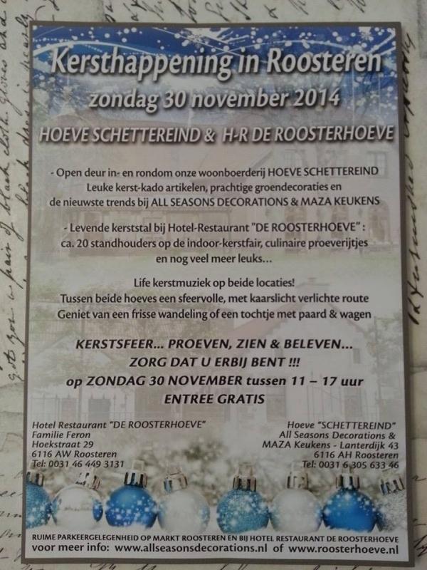 Kerstmarkt in Roosteren
