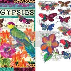 gipsy boho bird butterfly