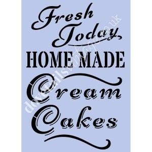 Cream Cake sjabloon