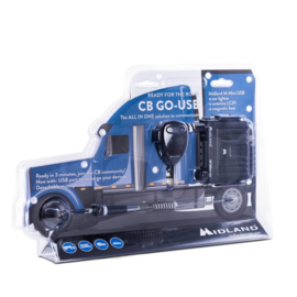 Midland CB-Go met USB set is Plug & Play!
