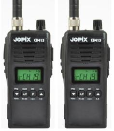 Jopix CB 413 set van 2 portofoons