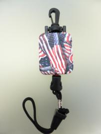 CB Mic Keeper Standard American Flag