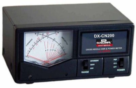 DX CN-200 SWR- en power kruismeter