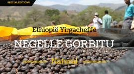 Ethiopie 'Negelle Gorbitu' natural / honey