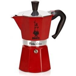 Bialetti espressopotje rood, 6-kops