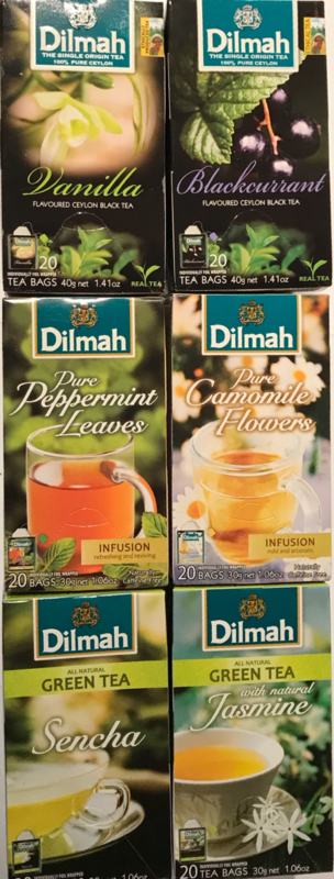 Dilmah flavoured