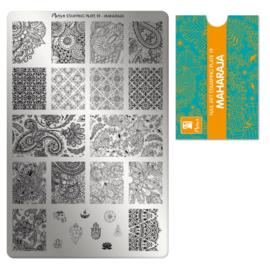 Moyra Stamping Plate 19 Maharaja