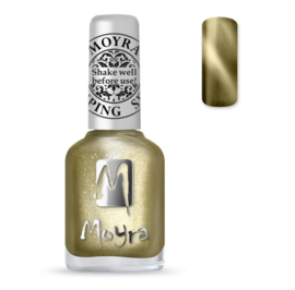 Moyra Stamping Nail Polish 12ml SP31 CAT EYE GOLD