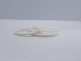 Striping tape Wit / White 1 mm