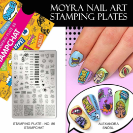 Moyra Stamping Plate 86 Stampchat