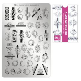 Moyra Stamping Plate 93 Blossemetry 2