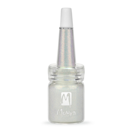 Moyra Glitter in Fles Nr. 06 Holo Wit