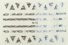 StickOn Reptile Geometric #13