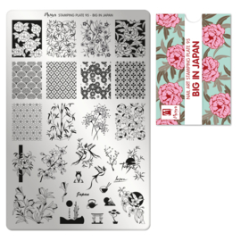 Moyra Stamping Plate 95 Big in Japan