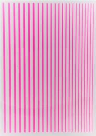 Korneliya Nailart Strip Neon Pink