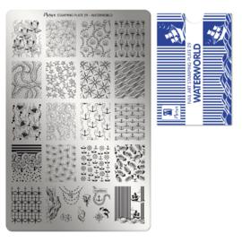 Moyra Stamping Plate 29 Waterworld