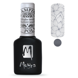 Moyra Stamping Gel Polish 10ml SGP02 GREY