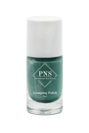 PNS Stamping Polish No.10 Groen Glitter