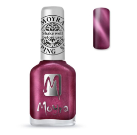 Moyra Stamping Nail Polish 12ml SP32 CAT EYE RED