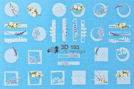 3D Waterdecal - 3D 193