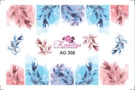 Korneliya Airbrush Waterdecal   AG 358