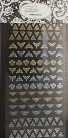 3D XL Jewels - Triangle  Barock