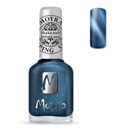 Moyra Stamping Nail Polish 12ml SP33 CAT EYE BLUE
