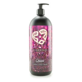 Hand and Body Cream QUEEN 1 Liter