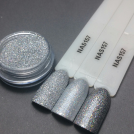 Nailart Decor Zand 157 Holografic Silver