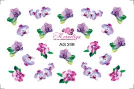 Korneliya Airbrush Waterdecal   AG 249