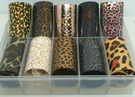 Korneliya  Nail Art Folie Set Panter Nr 4