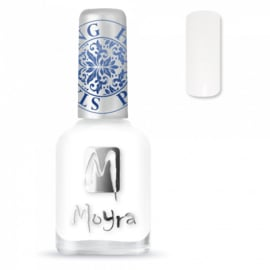 Moyra Stamping Nail Polish 12ml SP07 WHITE