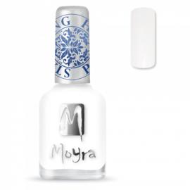 Moyra Stamping Nail Polish 12ml SP07 WHITE
