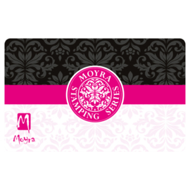 Moyra Scraper Nr 10 Black Pink Design